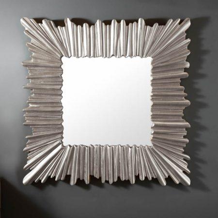 LuxD Dizajnové nástenné zrkadlo Kathleen  strieborné  x  25150
