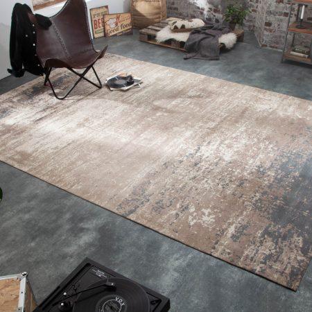 LuxD Dizajnový koberec Rowan 350 x 240 cm sivo-béžový