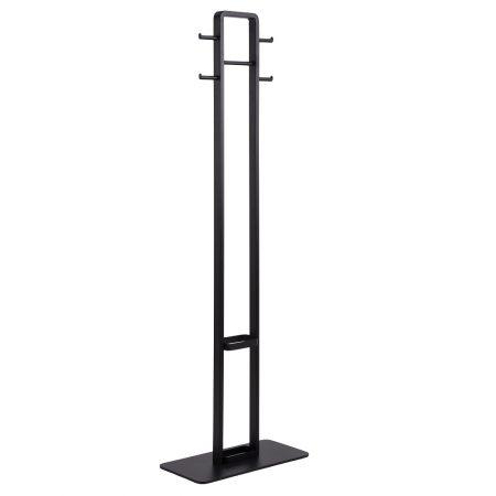 Dkton Dizajnový vešiak Danesha 180 cm čierny