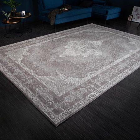 LuxD Dizajnový koberec Rex 350 x 240 cm svetlosivý