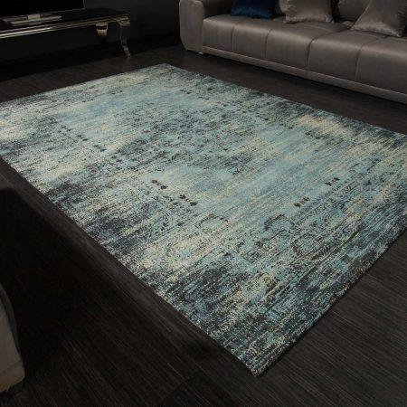 LuxD Dizajnový koberec Saniyah 240 x 160 cm tyrkysovo-modrý