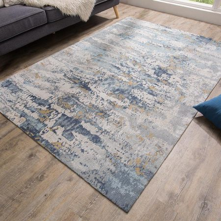 LuxD Dizajnový koberec Jakob 240x160 modrý