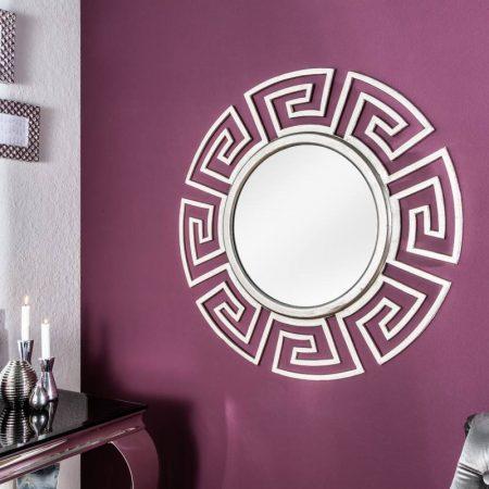 LuxD Nástenné zrkadlo Leonel, strieborné,  x  21065