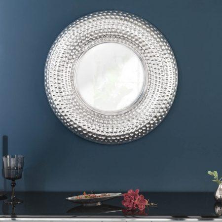 LuxD Nástenné zrkadlo Alijah  strieborné  x  24994